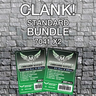 """Clank"" Card Sleeve Bundle - Standard Protection - Mayday Games - 1"