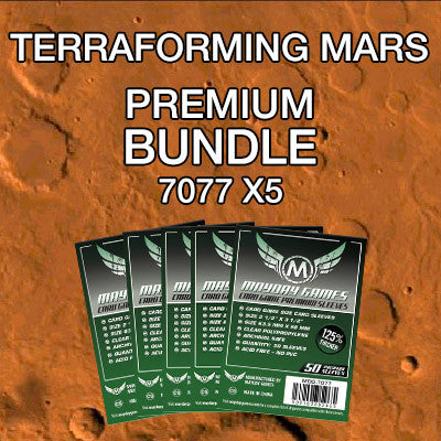 """Terraforming Mars"" Card Sleeve Bundle - Premium Protection - Mayday Games - 1"