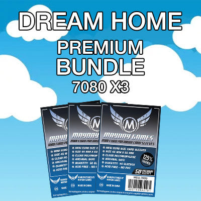 """Dream Home"" Card Sleeve Bundle - Premium Protection - Mayday Games - 1"