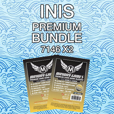 """Inis"" Card Sleeve Bundle - Premium Protection - Mayday Games - 1"