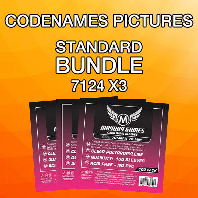 """Codenames: Pictures"" Card Sleeve Bundle - Standard Protection - Mayday Games - 1"