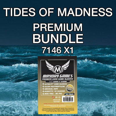 """Tides of Madness"" Card Sleeve Bundle - Premium Protection - Mayday Games - 1"