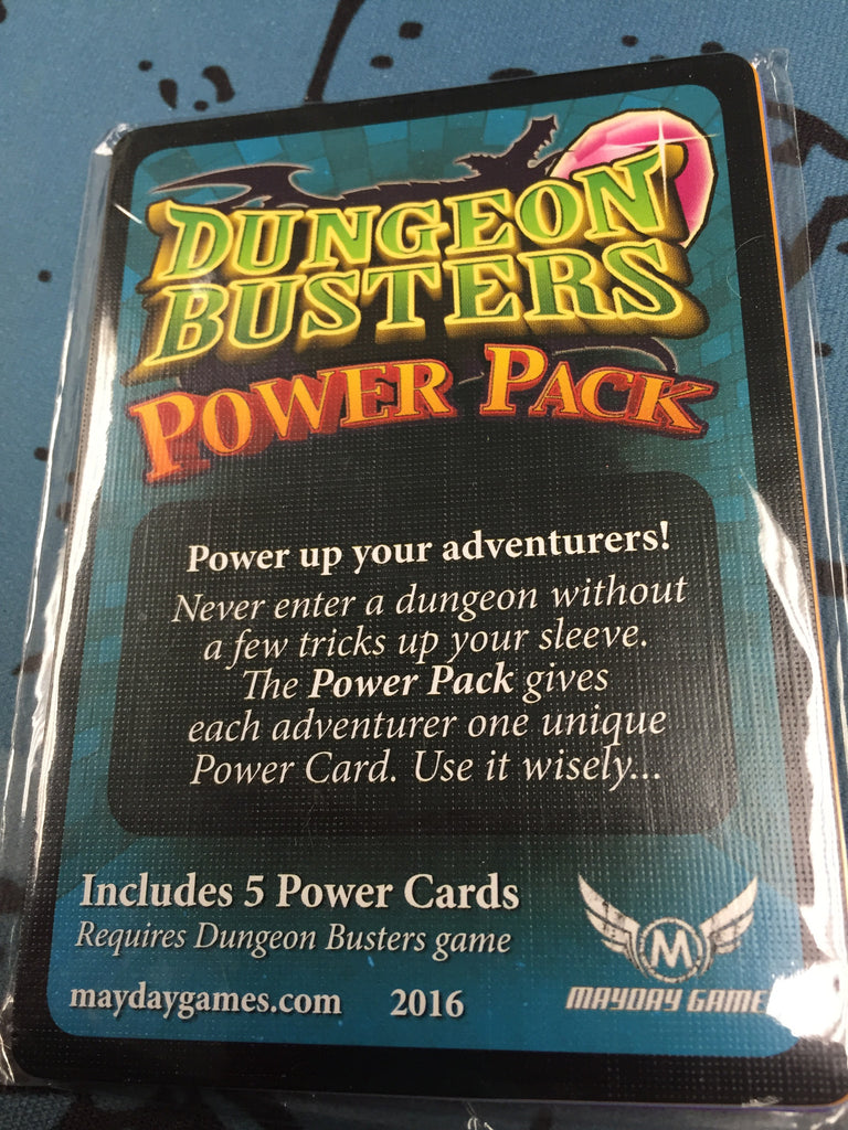 Power Pack - Promo Cards for Dungen Busters -  - Mayday Games - 1