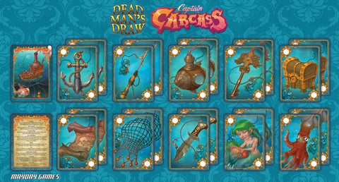 Play-mat for Captain Carcass -  - Mayday Games
