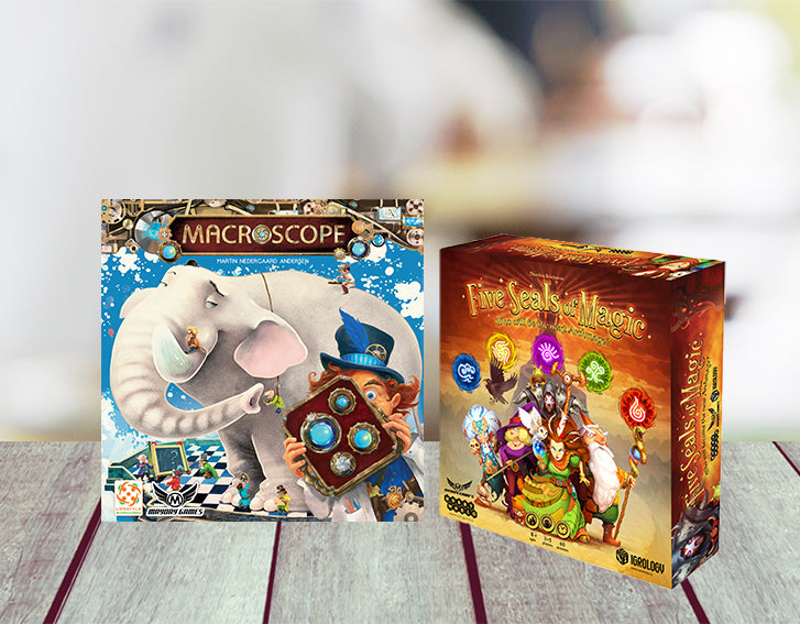 New Games Bundle: Five Seals Of Magic + Macroscope