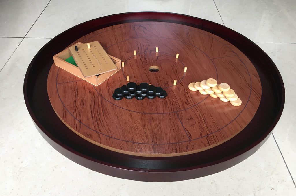 Rosewood Hardwood Tournament Edition Crokinole Board (2020 Version) PREORDER!