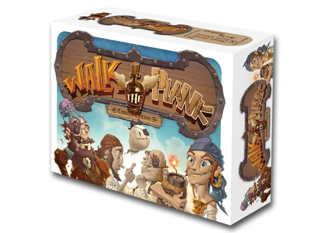 Walk the Plank Deluxe Tin Edition LE - Limited Kickstarter Edition (last 100 ever, limit 2 per person!) Like Get Bit