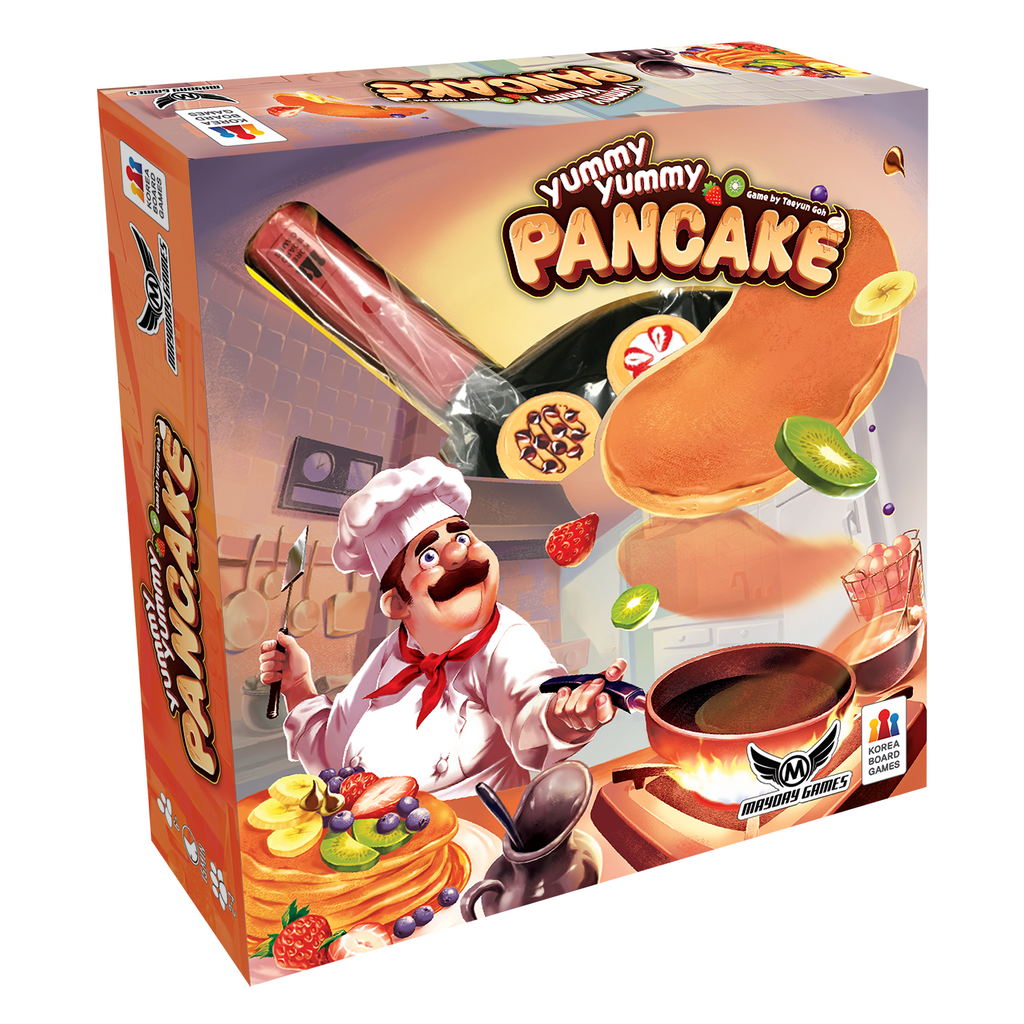 Yummy Yummy Pancake Dexterity Game