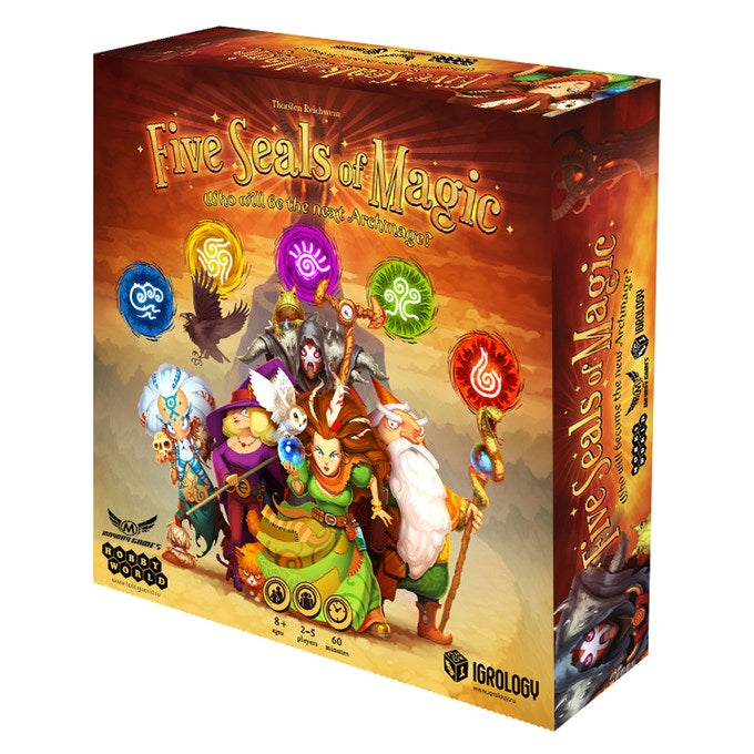 Five Seals of Magic - Board Game