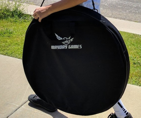 Black Crokinole Carrying Case (Bag)