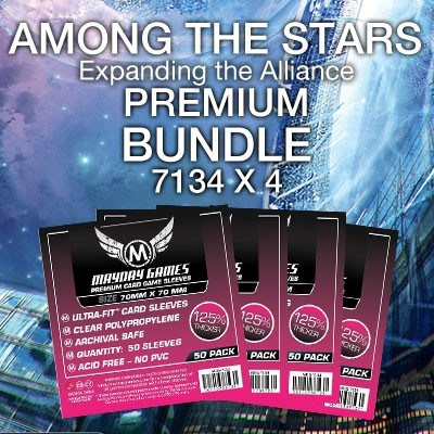 """Among the Stars: Expanding the Alliance"" Card Sleeve Kit - Premium Protection - Mayday Games - 1"