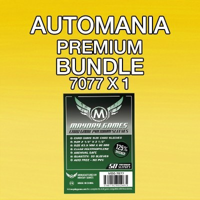 """Automania"" Card Sleeve Kit - Premium Protection - Mayday Games - 1"