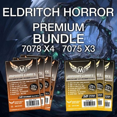 """Eldritch Horror"" Card Sleeve Kit - Premium Protection - Mayday Games - 1"