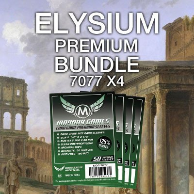 """Elysium"" Card Sleeve Bundle - Premium Protection - Mayday Games - 1"