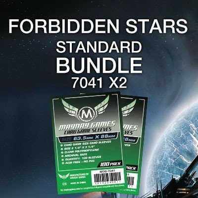"""Forbidden Stars"" Card Sleeve Bundle - Standard Protection - Mayday Games - 1"