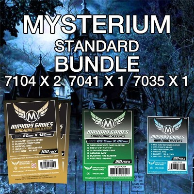 """Mysterium"" Card Sleeve Kit - Standard Protection - Mayday Games - 1"