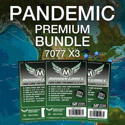"""Pandemic"" Card Sleeve Kit - Premium Protection - Mayday Games - 1"