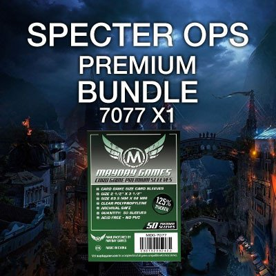 """Specter Ops"" Card Sleeve Kit - Premium Protection - Mayday Games - 1"