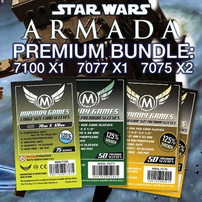 """Star Wars Armada"" Card Sleeve Kit - Premium Protection - Mayday Games - 1"