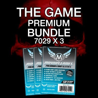 """The Game"" Card Sleeve Kit - Premium Protection - Mayday Games - 1"