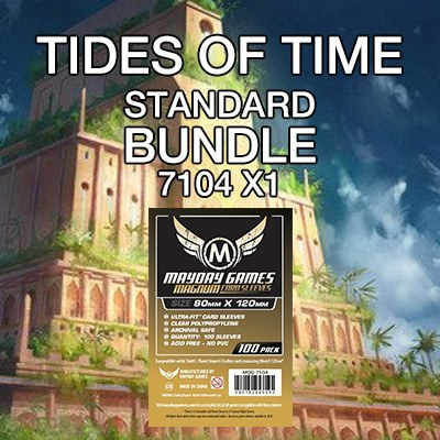 """Tides of Time"" Card Sleeve Bundle - Standard Protection - Mayday Games - 1"