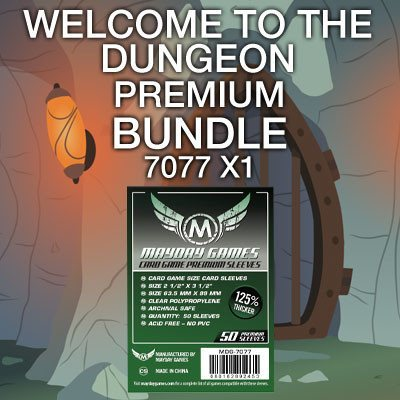 """Welcome to the Dungeon"" Card Sleeve Bundle - Premium Protection - Mayday Games - 1"