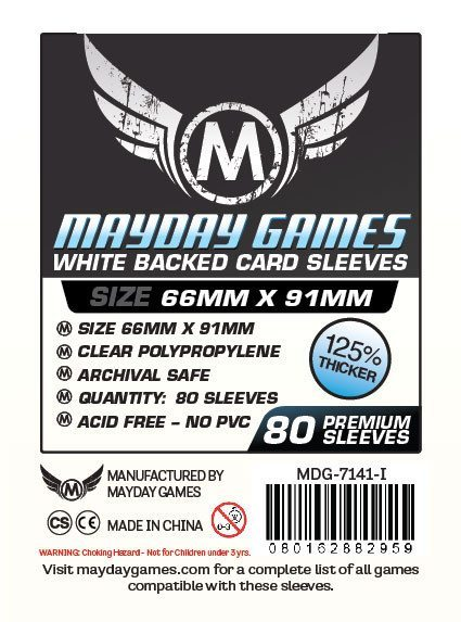 MTG/CCG Card Sleeves (63 5x88mm) - 80 Pack