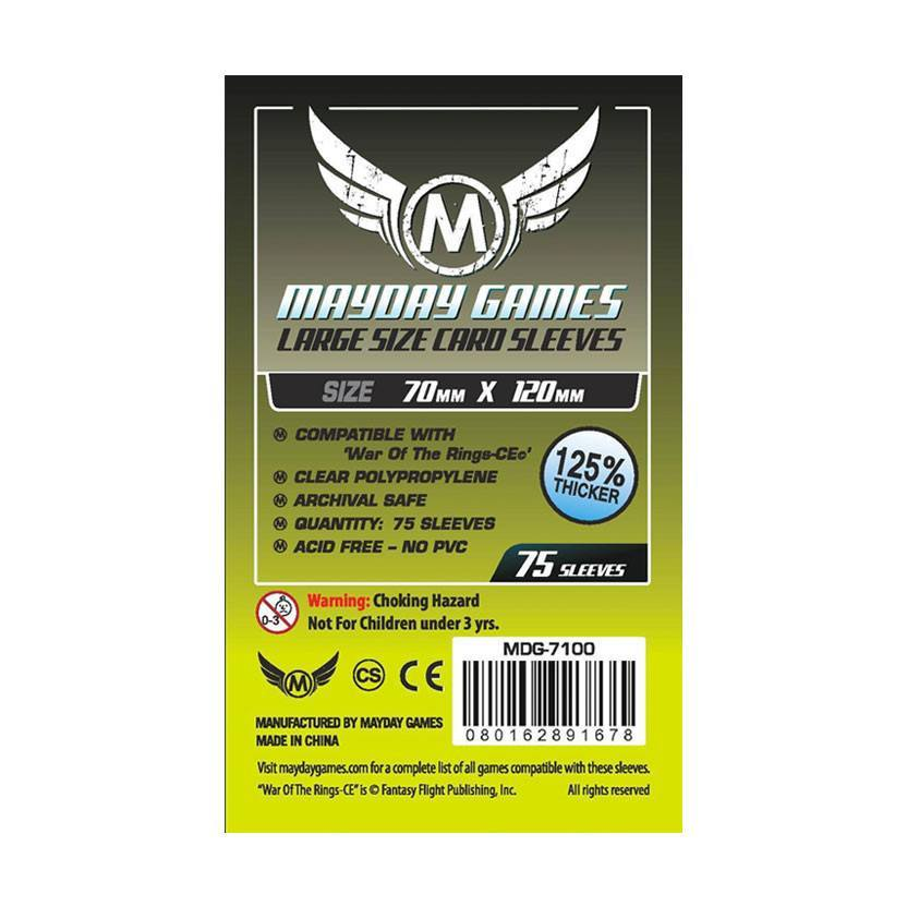 Large Card Sleeves (70x120mm) -  - Mayday Games