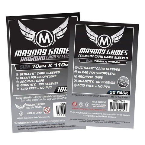 """Lost Cities"" Card Sleeves - Magnum Ultra-Fit  (70x110mm) -  - Mayday Games - 1"