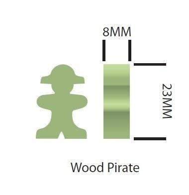 Ghost Meeple for Walk The Plank -  - Mayday Games