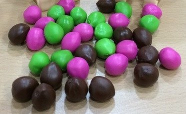 36 Pack of Coconuts (12 Brown, 12 Green, 12 Pink) -  - Mayday Games