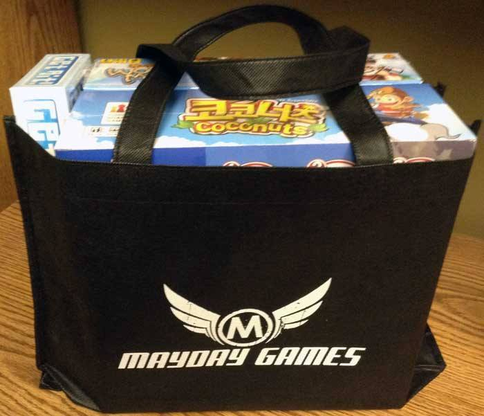 Black Swag Bag Mayday Games Logo -  - Mayday Games - 1