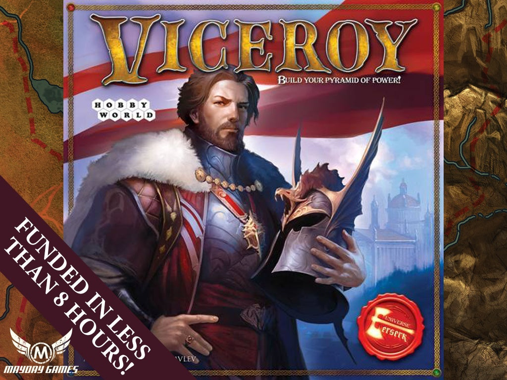 Viceroy - Build Your Pyramid of Power! -  - Mayday Games - 1