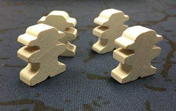 Ghost Meeple for Walk The Plank