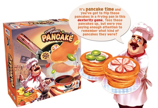 Yummy Yummy Pancake Bundle - Base game and two promo's