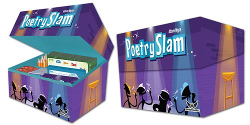 Poetry Slam: A groovy party game for 3-10 players