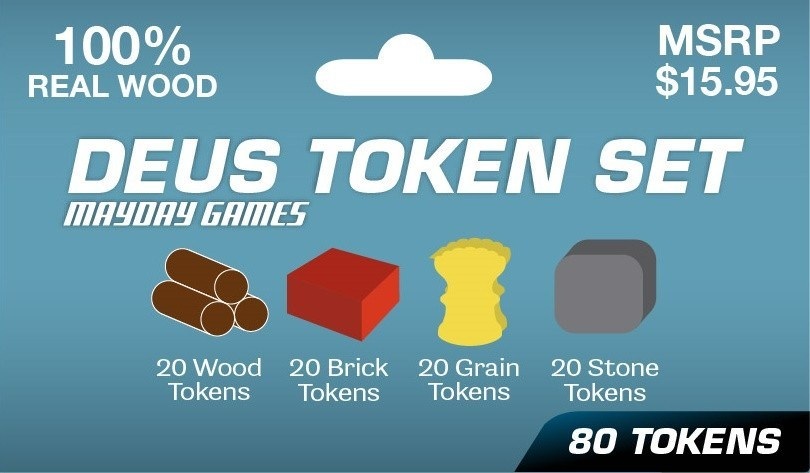 Deus Token Set -  - Mayday Games - 1