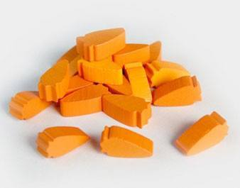 Pack of 10 Carrot Tokens -  - Mayday Games
