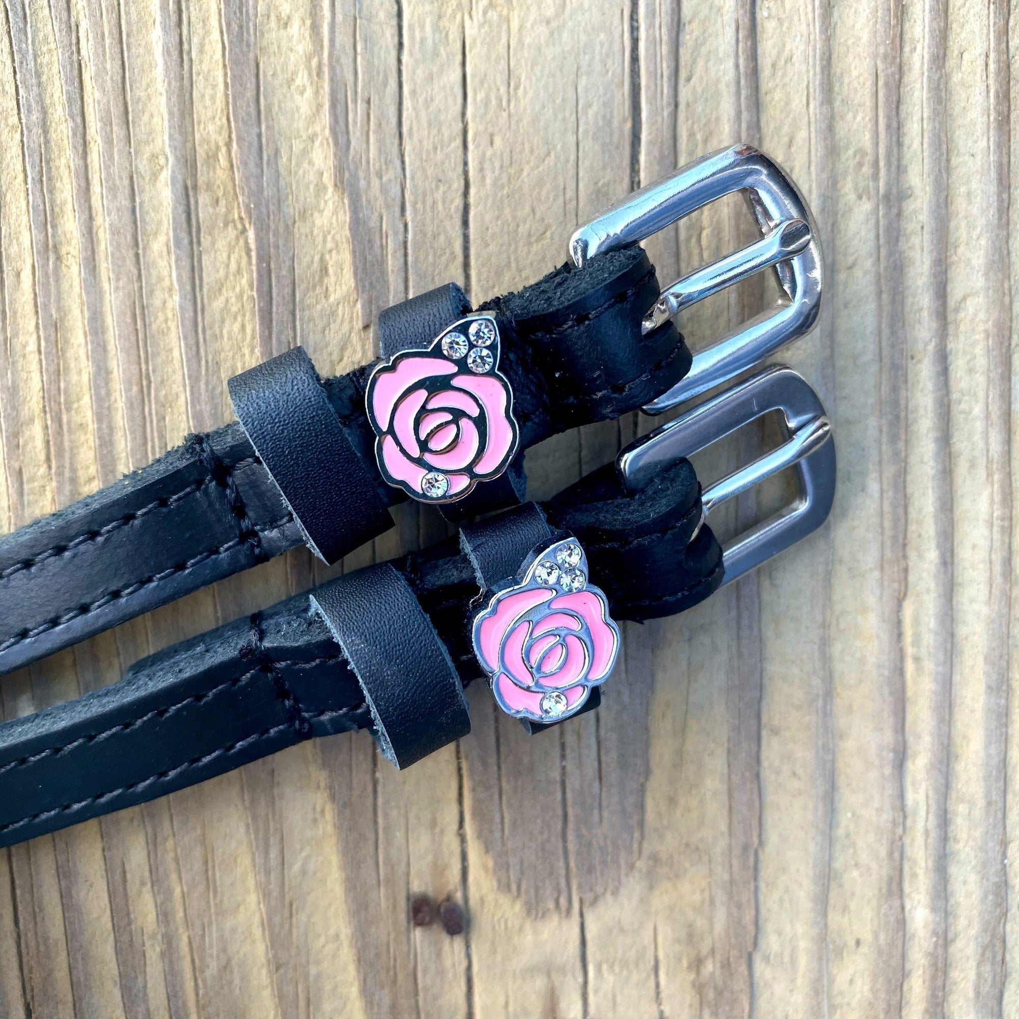 ManeJane Black Spur Straps Pink Roses equestrian boot socks boot socks thin socks riding socks pattern socks tall socks funny socks knee high socks horse socks horse show socks
