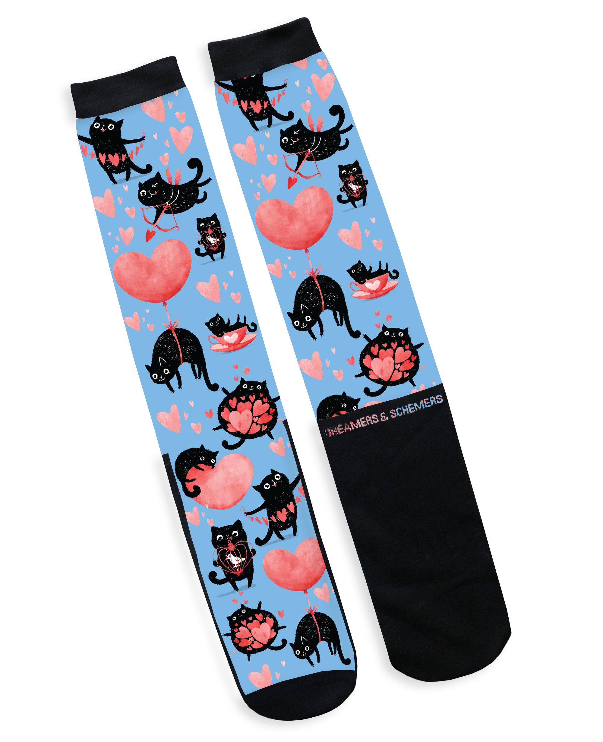 dreamers & schemers Limited Edition PURRR Socks equestrian boot socks boot socks thin socks riding socks pattern socks tall socks funny socks knee high socks horse socks horse show socks
