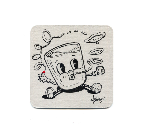 64 Colors - Shot Puff 02 Coaster