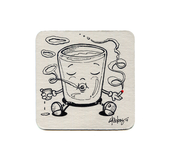 64 Colors - Shot Puff 04 Coaster