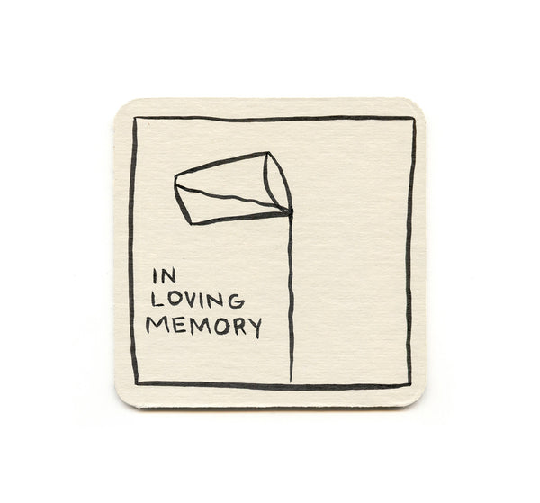 Alex Despain - In Loving Memory Coaster