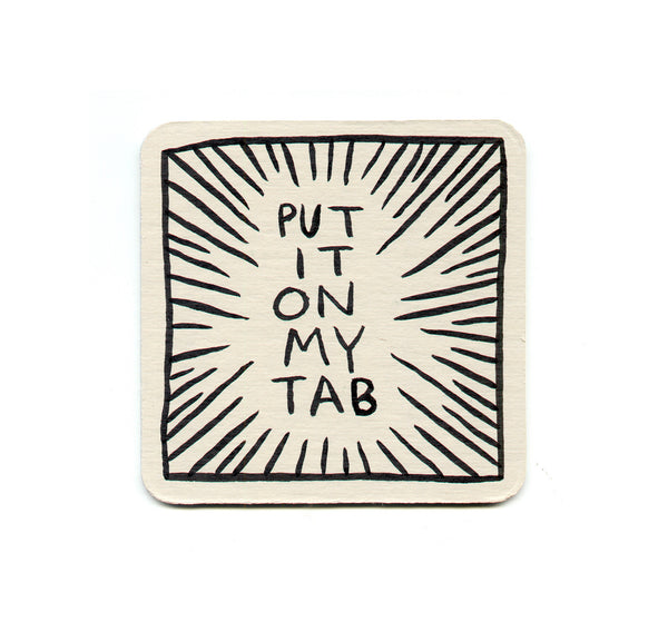 Alex Despain - Put It On My Tab Coaster