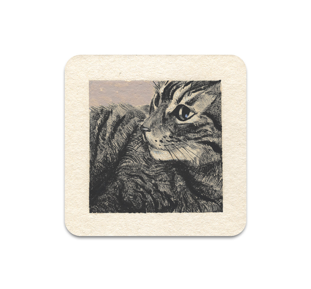 S3 Alison George - Sometimes I Sit Coaster