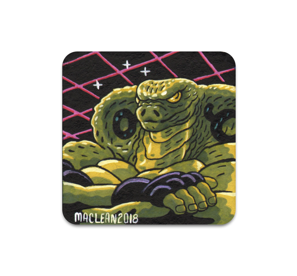 S3 Andrew Maclean - Untitled 4 Coaster