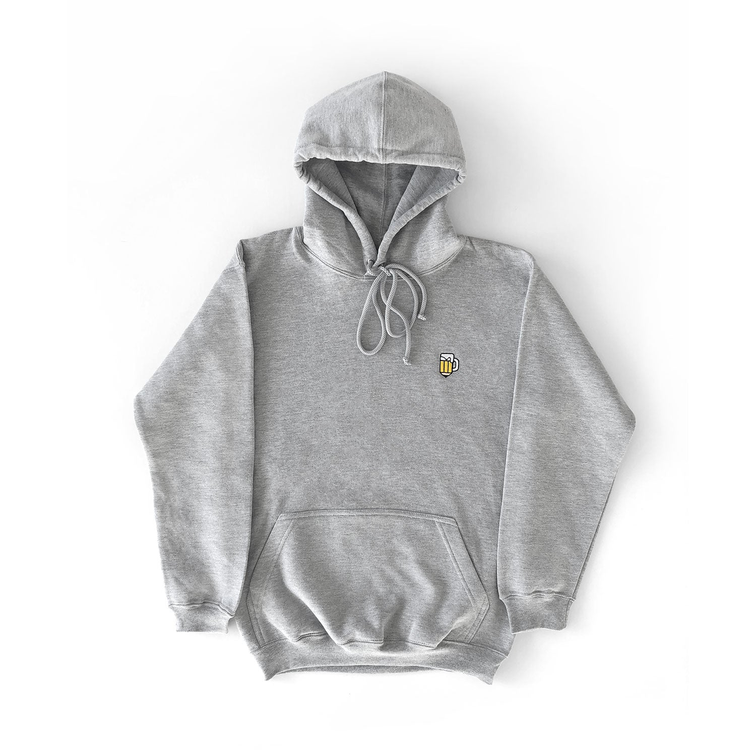 Drink and Draw Hoodie - Heather Grey