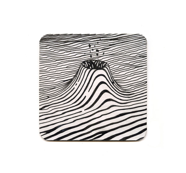 S1 Brendan Monroe - Untitled 2 Coaster