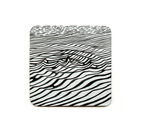 S1 Brendan Monroe - Untitled 3 Coaster