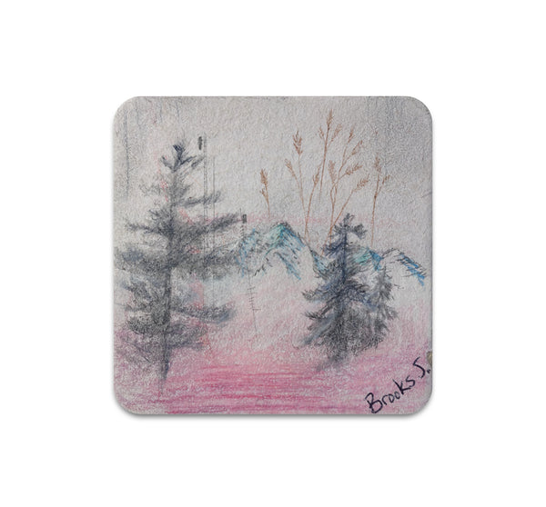 Brooks Salzwedel - Blue Mountain Weeds Coaster